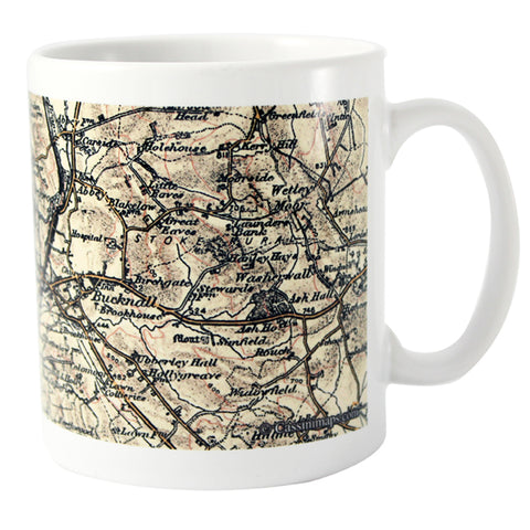 Buy Personalised 1896 - 1904 Revised New Map Mug