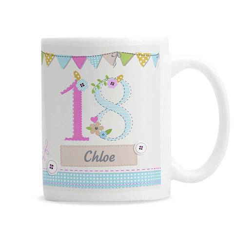 Personalised Birthday Craft Mug