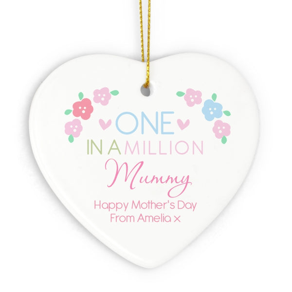 personalised-one-in-a-million-ceramic-heart-decoration