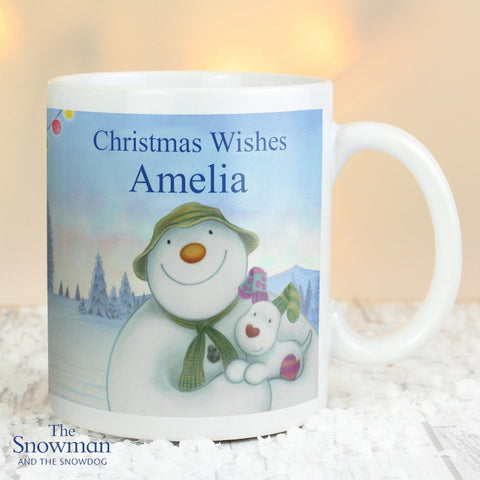 Buy Personalised The Snowman and the Snowdog Mug
