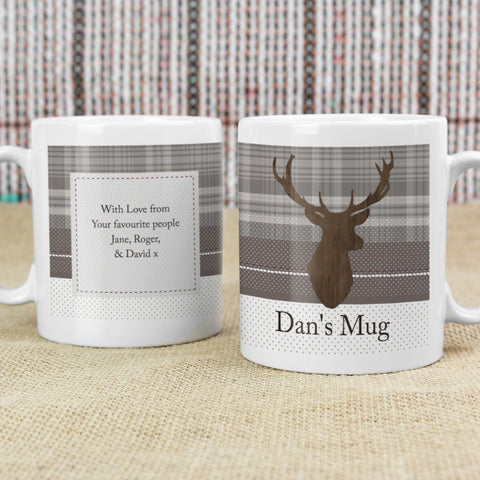Buy Personalised Highland Stag Mug