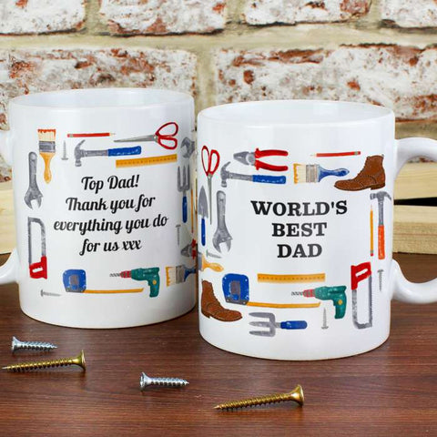 Personalised DIY Man Mug - Shane Todd Gifts UK