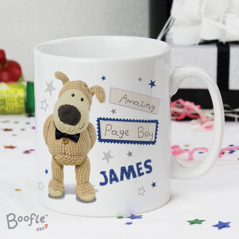 Buy Personalised Boofle Male Wedding Mug