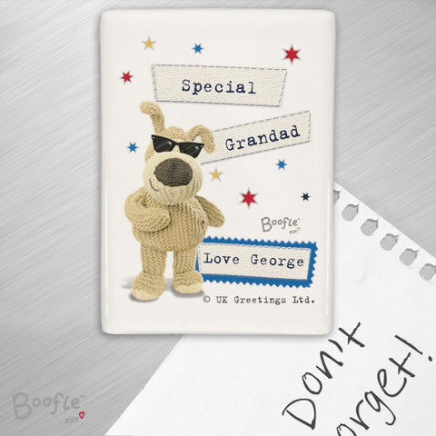 Buy Personalised Boofle Stars Fridge Magnet