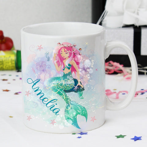 Buy Personalised Mermaid Mug