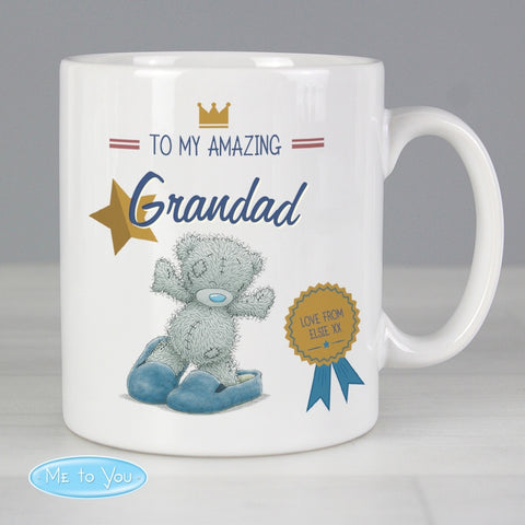 Buy Personalised Me to You Slippers Mug