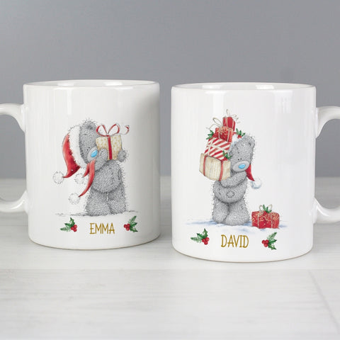 Buy Personalised Me to You Christmas Couple's Mug Set
