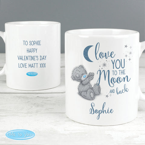 Personalised Me to You 'Love You to the Moon and Back' Mug