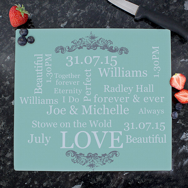personalised-typography-glass-chopping-board
