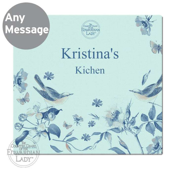 personalised-country-diary-blue-blossom-glass-chopping-board