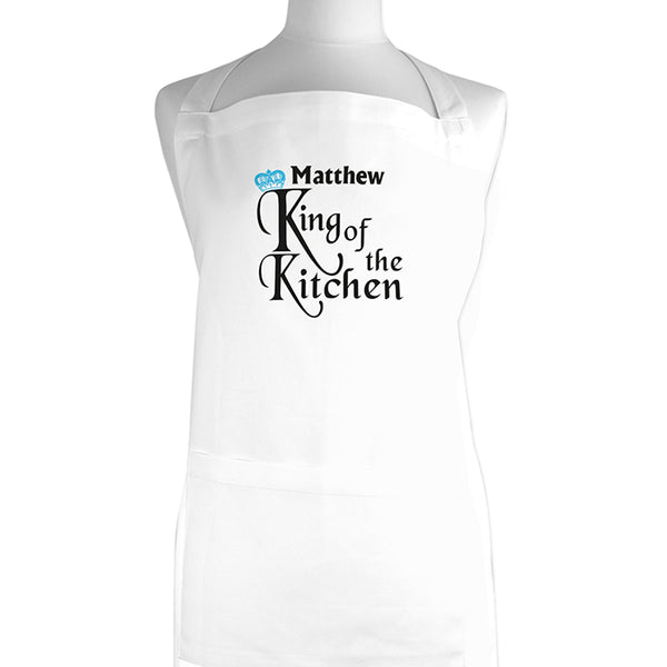 personalised-king-of-the-kitchen-apron