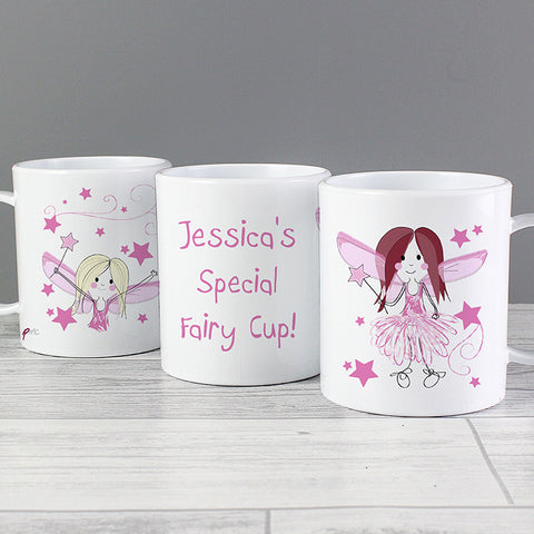 Personalised Fairy Plastic Cup