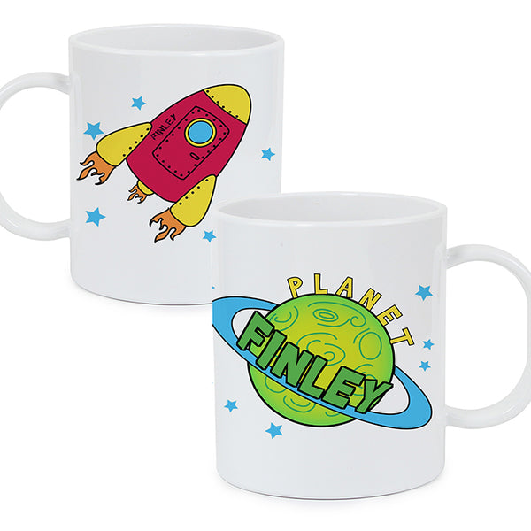 personalised-space-plastic-cup