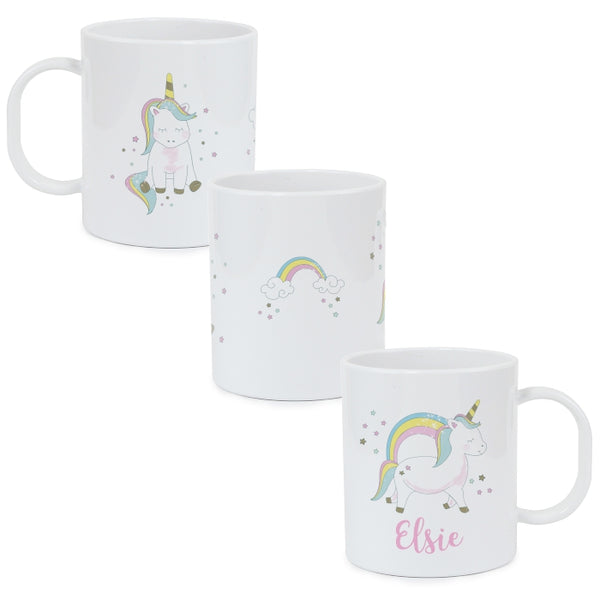 personalised-baby-unicorn-plastic-mug