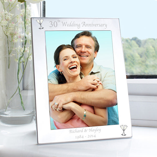 personalised-silver-5x7-30th-wedding-anniversary-photo-frame