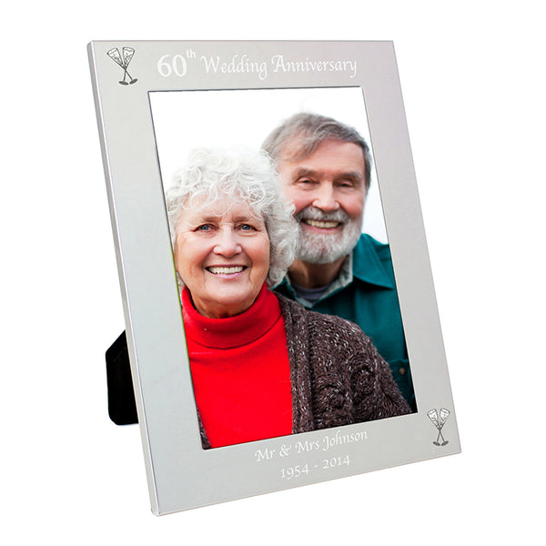 personalised-silver-5x7-60th-wedding-anniversary-photo-frame