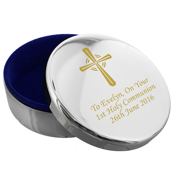 personalised-gold-cross-rosary-bead-trinket-box