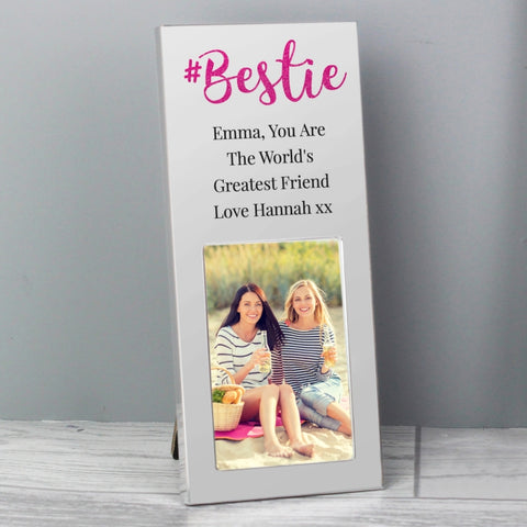 Personalised #Bestie 2x3 Photo Frame