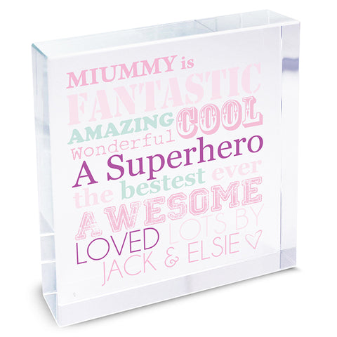 Personalised She Is...Large Crystal Token - Gifts24-7.co.uk