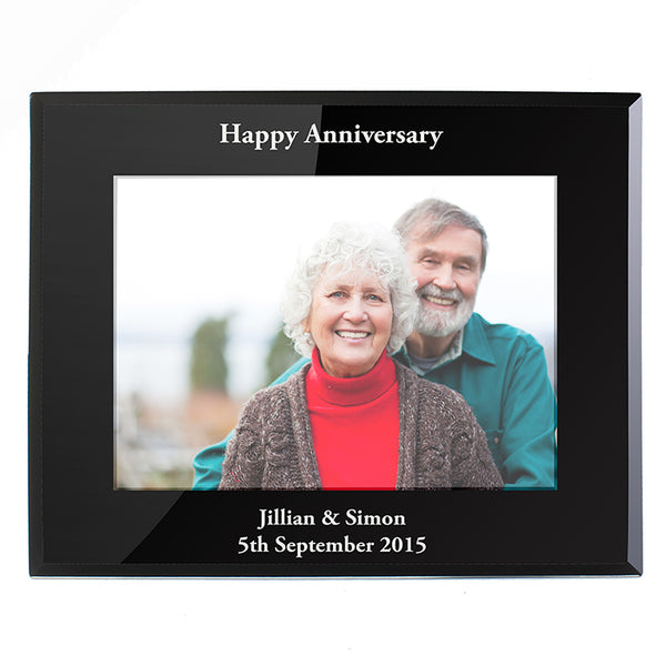 personalised-landscape-black-glass-photo-frame-5x7