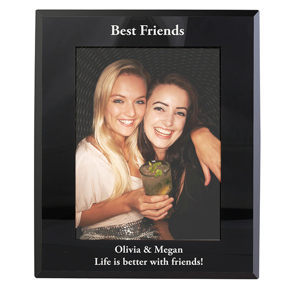 personalised-portrait-black-glass-photo-frame-5x7