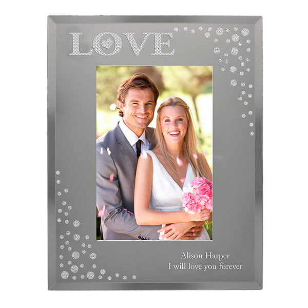 personalised-love-diamante-6x4-glass-photo-frame