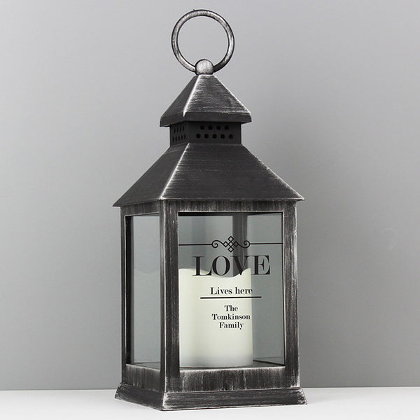 personalised-elegant-diamond-black-lantern