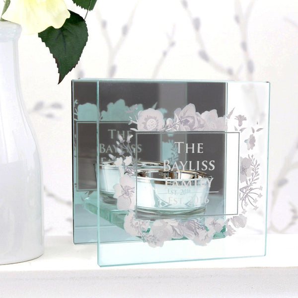 personalised-soft-watercolour-mirrored-glass-tea-light-holder