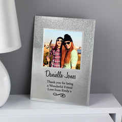 Glitter Glass Photo Frames