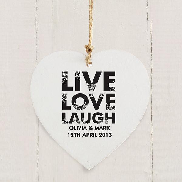 personalised-live-love-laugh-wooden-heart-decoration