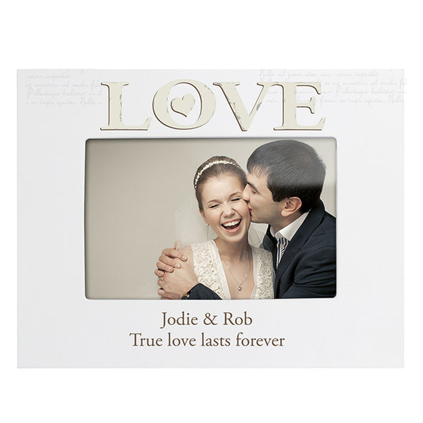 personalised-love-white-6x4-photo-frame
