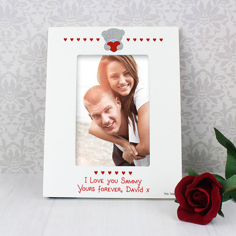 Personalised Me to You Big Heart 6x4 Photo Frame - Shane Todd Gifts UK