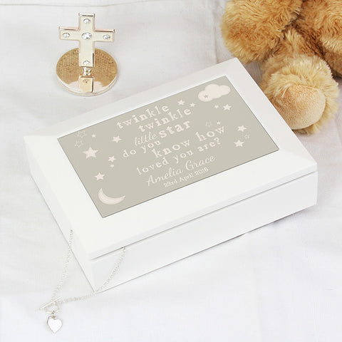 Buy Personalised Twinkle Twinkle Jewellery Box
