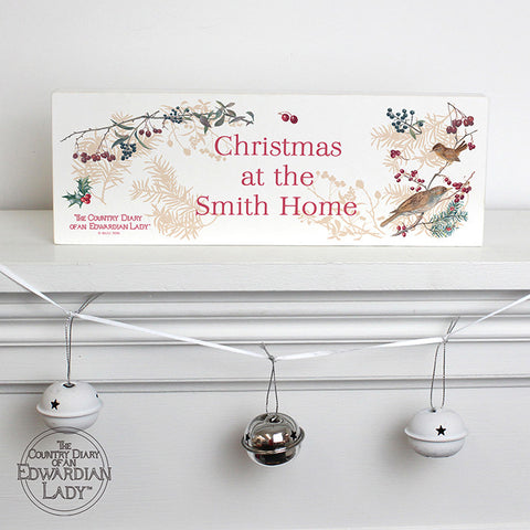 Buy Personalised Country Diary Midwinter Mantel Block