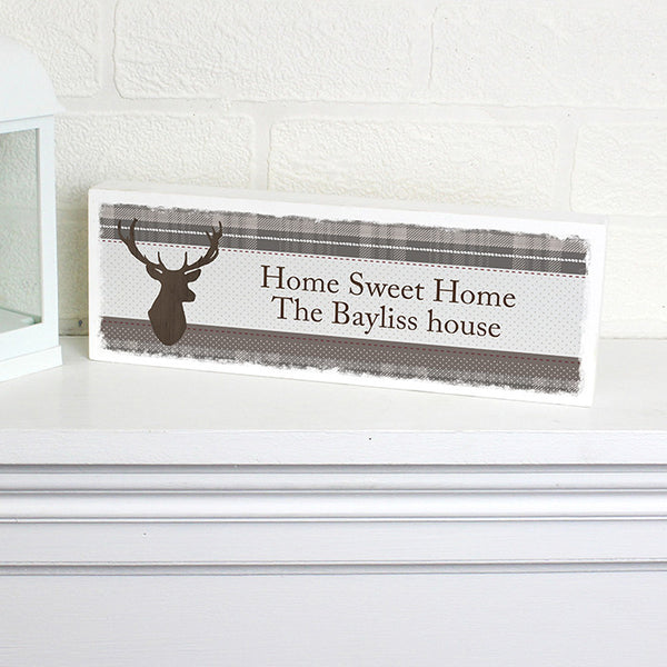 personalised-highland-stag-mantel-block