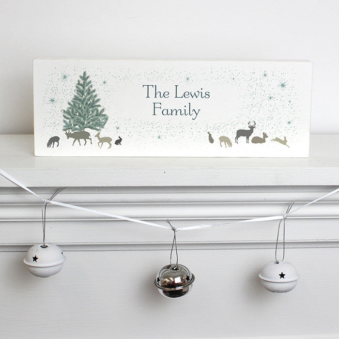 Buy Personalised A Winter's Night Mantel Block