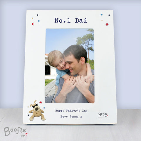 Buy Personalised Boofle Stars 4x6 Photo Frame