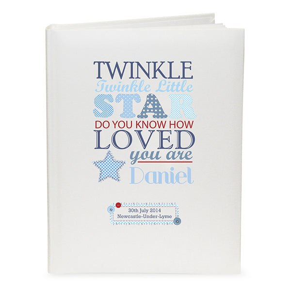 personalised-twinkle-boys-traditional-album