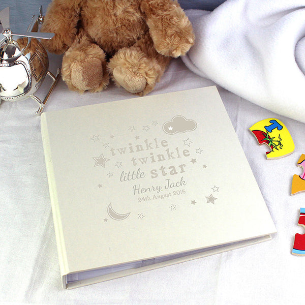 Buy Personalised Twinkle Twinkle Album with Sleeves