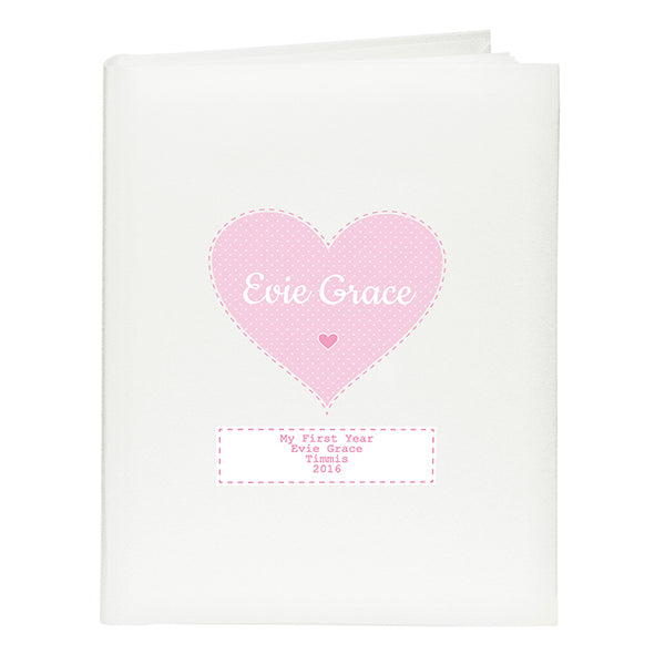 personalised-stitch-dot-girls-album-with-sleeves