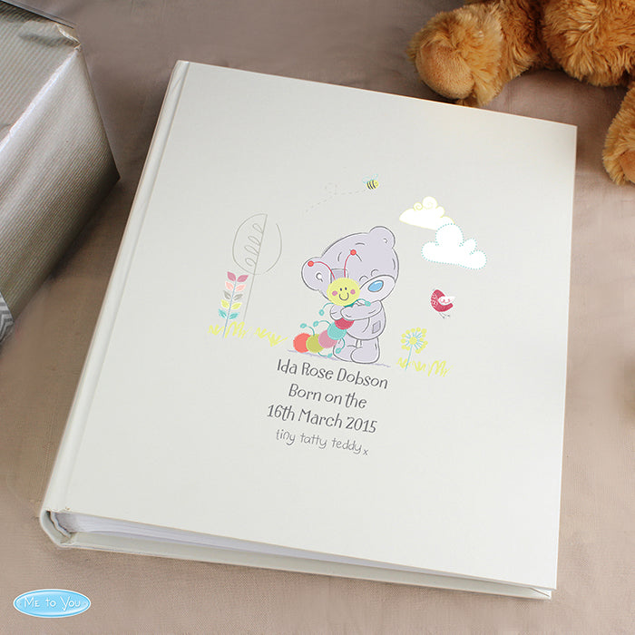 Personalised Tiny Tatty Teddy Cuddle Bug Album with Sleeves