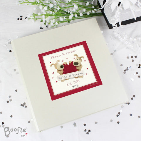 Buy Personalised Boofle Shared Heart Album with Sleeves