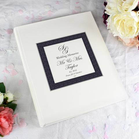 Personalised Ornate Monogram Traditional Album - Shane Todd Gifts UK