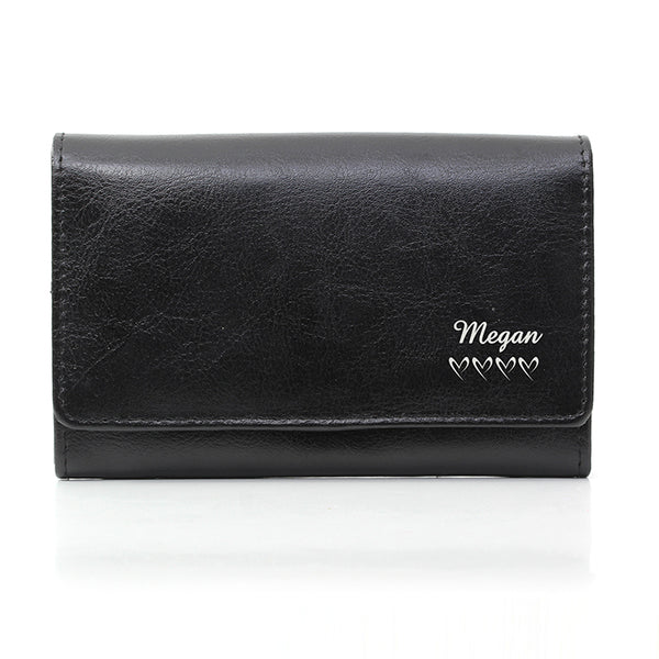 personalised-name-hearts-black-leather-purse