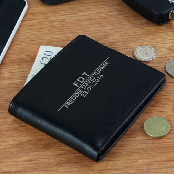 personalised-classic-leather-wallet