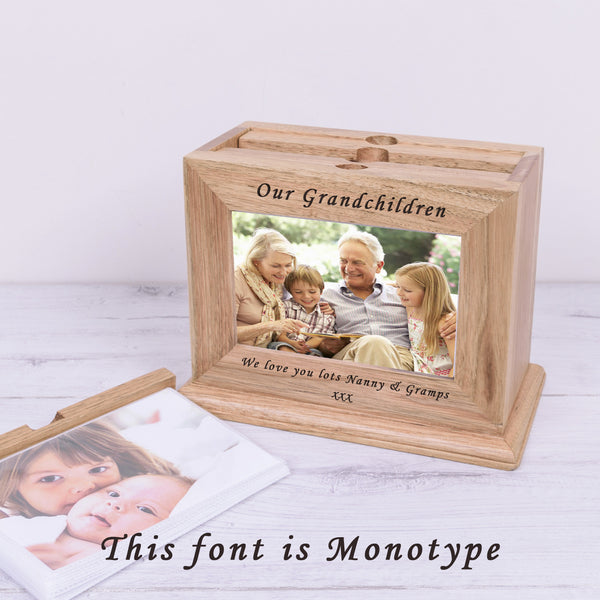 Any Message Wooden Photo Album - Gifts24-7.co.uk