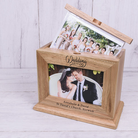 Wooden Photo Album Wedding