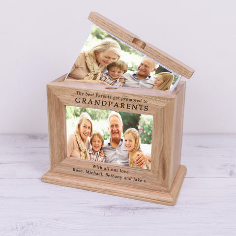 Wooden Photo Album GRANDPARENTS