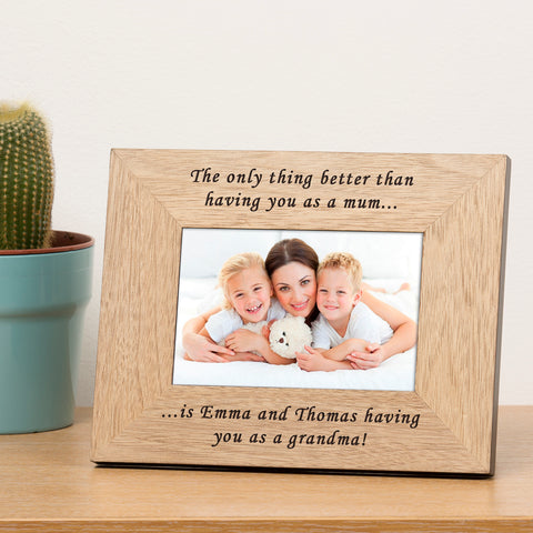 The only thing better...Wooden Frame 6x4 | Gifts24-7.co.uk