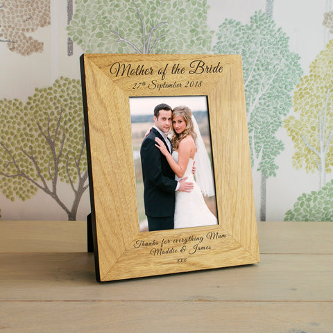 Wedding Wooden Frame 4x6 / 6x4 | Gifts24-7.co.uk